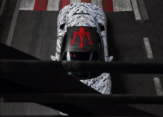 新旗舰 玛莎拉蒂MC20将于9月10日全球首发