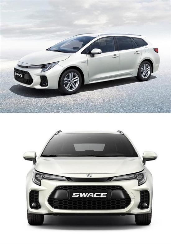 翻版卡罗拉旅行 铃木Swace车型海外发布
