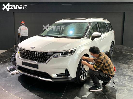 北京车展探馆:全新一代起亚嘉华实车