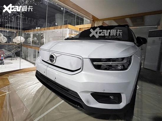 2020广州车展探馆 沃尔沃XC40 RECHARGE