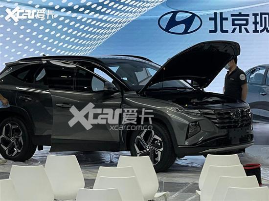 广州车展探馆:全新北京现代途胜L实车
