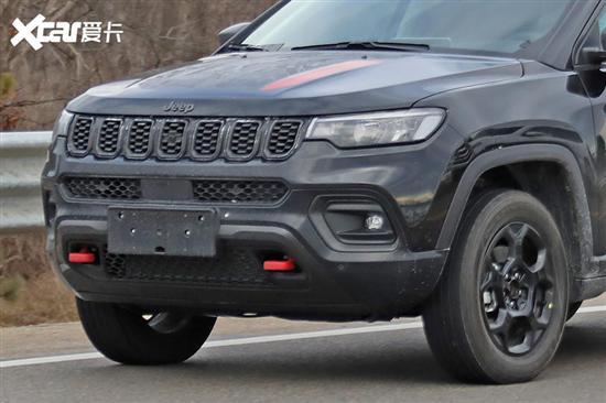 2022款Jeep指南者四驱版谍照 细节调整