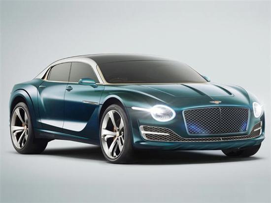 宾利首款纯电动车渲染图 将2025年推出