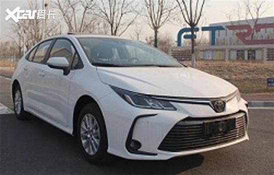 卡罗拉新车型或明年1月4日上市 搭1.5L