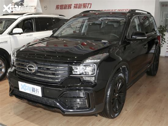 广汽传祺GS8增2款新车 售18.58-20.28万