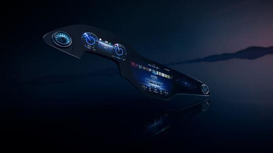 奔驰发布MBUX Hyperscreen车内显示屏