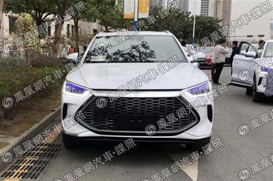 比亚迪全新SUV新车曝光 又是一款新前脸