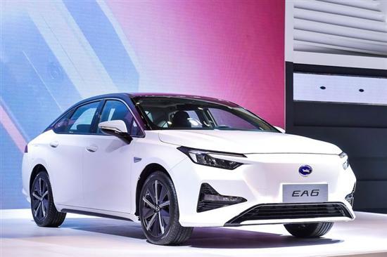 纯电轿车 广汽本田EA6亮相海口新能源车展
