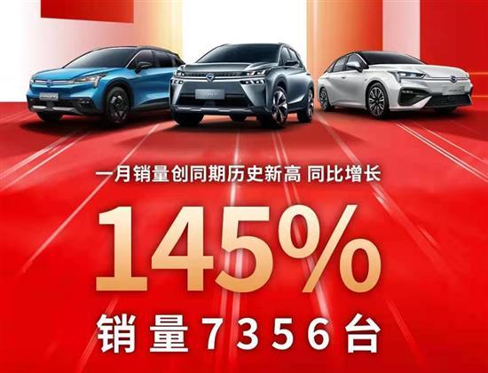 新造车企业1月销量飘红 广汽埃安创新高