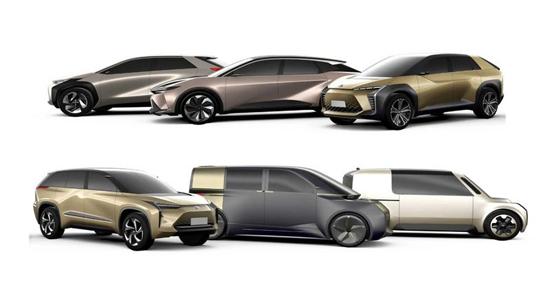 推纯电及插混动力 丰田最新电气化车型计划