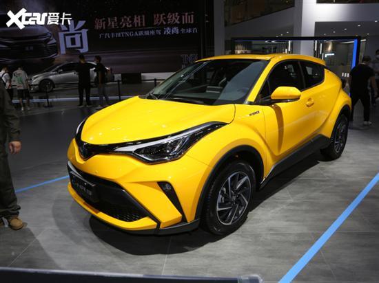 新款广汽丰田C-HR于6月上市 新增双擎版