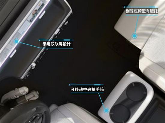 采用双联屏设计 现代IONIQ 5内饰预告图发布