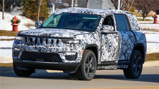 Jeep大切诺基五座版谍照曝光 预计年内上市