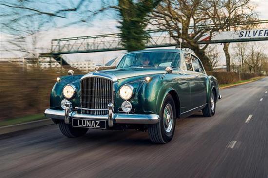 全球首辆全电动版宾利亮相 售价35万英镑