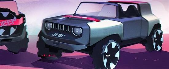Jeep迷你越野车渲染图曝光 或明年上市