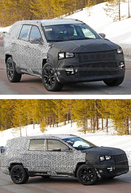 Jeep新款指南者谍照曝光 增加7座版车型