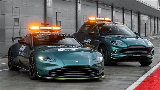 阿斯顿·马丁将承担新赛季F1官方安全车