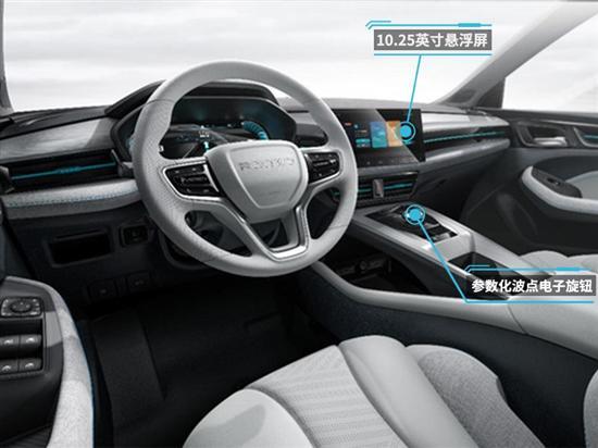 采用电感新智能设计 荣威新款Ei5内饰官图