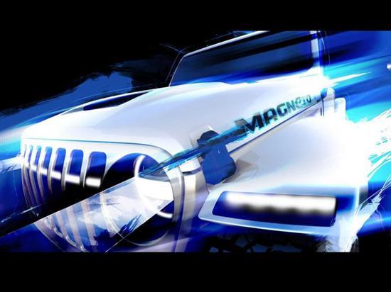 """月底发布 电动牧马人将成最""""野""""Jeep"""