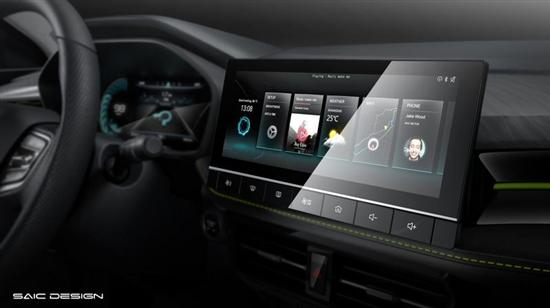 新潮科技为主题 新款荣威i5内饰官图发布