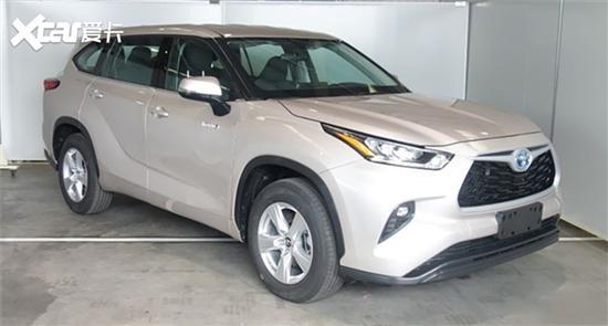 第四代丰田汉兰达上海车展首发 9月上市