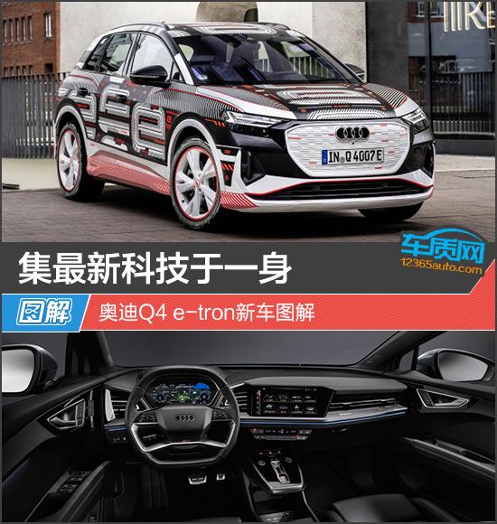 集最新科技于一身 奥迪Q4 e-tron新车图解