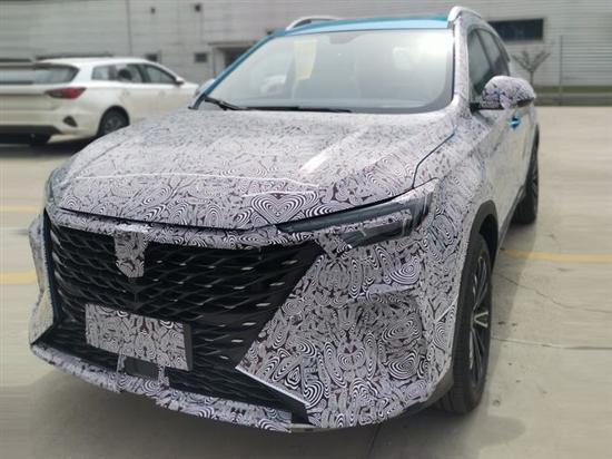 上海车展首发亮相 新款荣威RX5 PLUS谍照