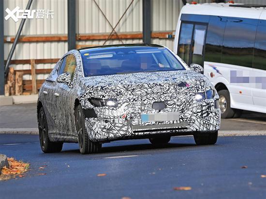 奔驰EQE将慕尼黑车展首发 对标Model S
