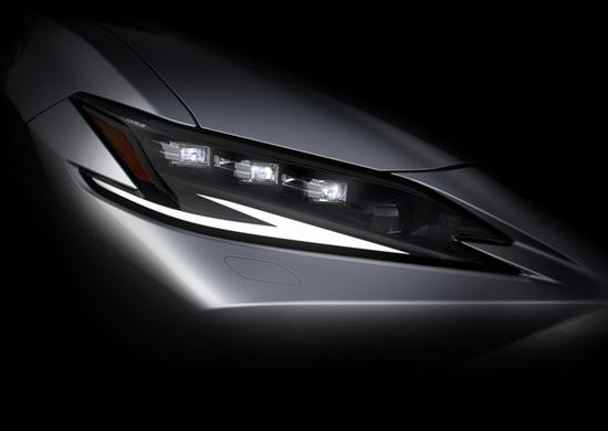 重磅车型 雷克萨斯ES/LF-Z将上海车展亮相