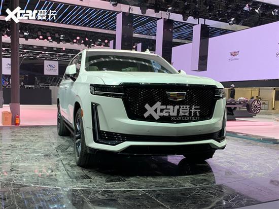 上海车展探馆:新凯迪拉克凯雷德标轴版