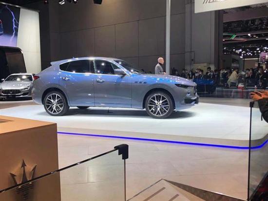 上海车展:玛莎拉蒂Levante Hybrid首发