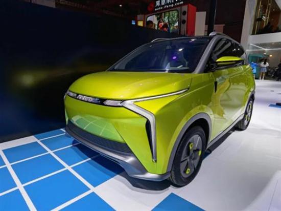 上海车展:奇瑞新能源小蚂蚁Z概念车发布