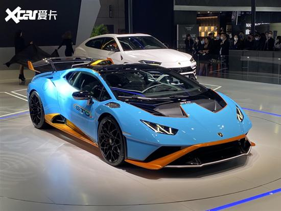 2021上海车展:兰博基尼 Huracan STO