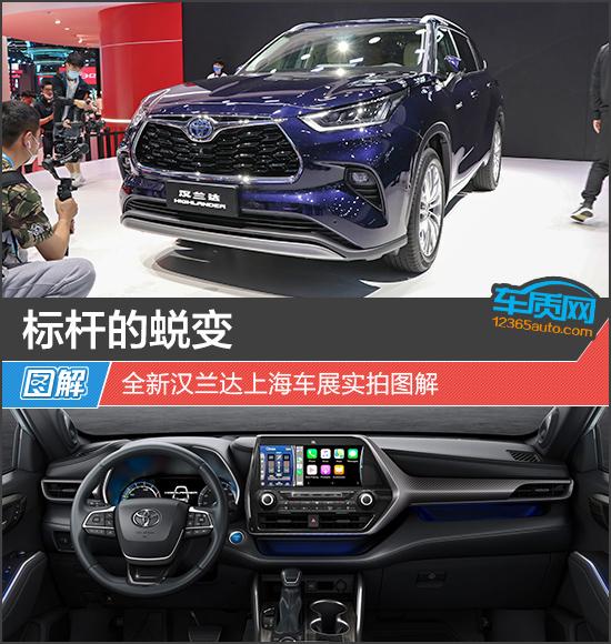 标杆的蜕变 全新汉兰达上海车展实拍图解