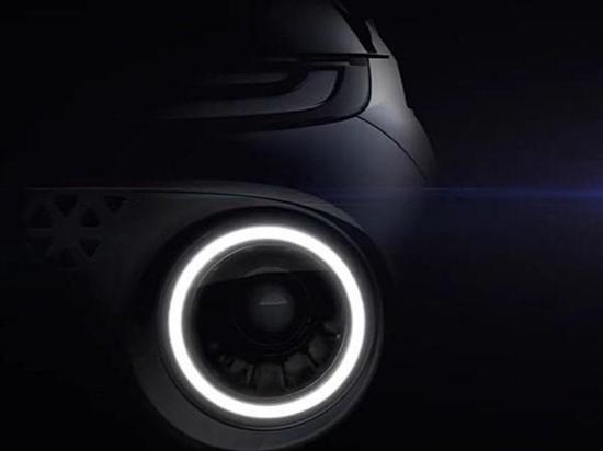 现代全新小型SUV预告图 将年内正式发布
