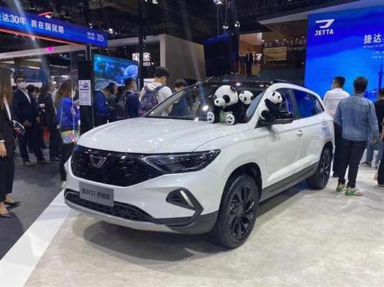 VS7熊猫版等 捷达多款新车将5月份上市