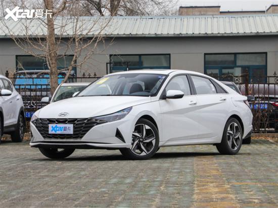 第七代伊兰特新增车型上市 售12.38万元
