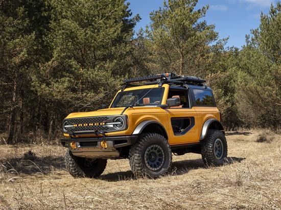 福特Bronco或将推出纯电动版 挑战牧马人