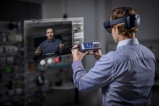 斯柯达汽车增强现实眼镜投入测试
