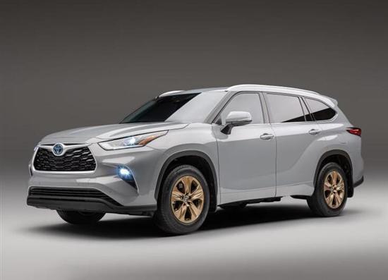 汉兰达特别版车型官图发布 将于年内上市