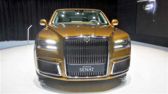 劳斯莱斯+宾利 俄罗斯顶级豪华车将投产