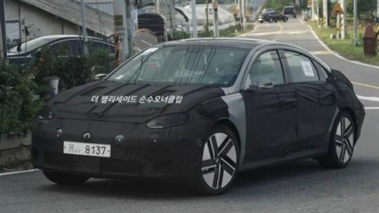 现代IONIQ 6谍照曝光 定位中型轿车
