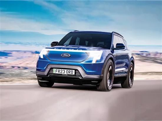 基于大众平台 福特明年将推紧凑级电动SUV