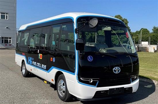 国产丰田柯斯达氢燃料电池车申报图曝光