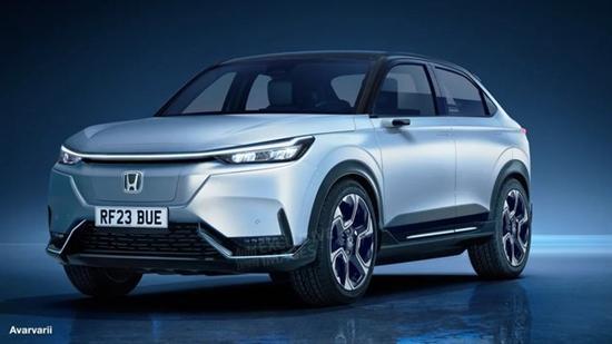 或2023年亮相 本田全新纯电小型SUV假想图