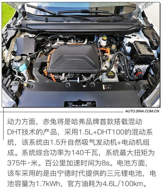 加速8s/油耗4.6L 试驾哈弗赤兔DHT混动