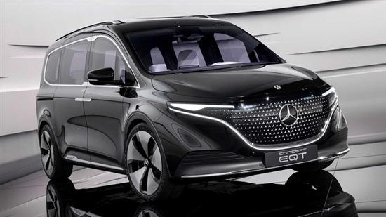 EQ家族纯电MPV 奔驰EQT概念车正式发布